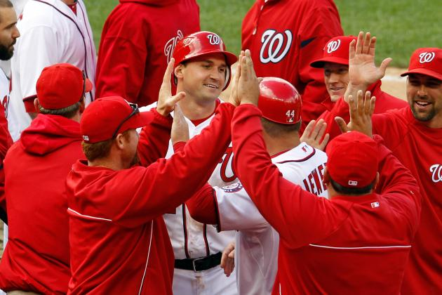 Washington Nationals Walk off on a Wild Pitch in 10th Inning vs. Cincinnati Reds
