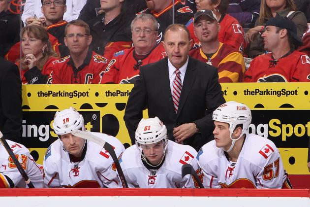 Calgary Flames Announce Head Coach Brent Sutter Will Not Be Returning