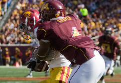 Gophers reach second stage of mourning for Tinsley
