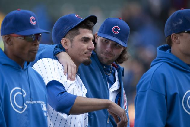 Chicago Cubs Bats Wake Up, Salavage a Win Against the Brewers 8-0