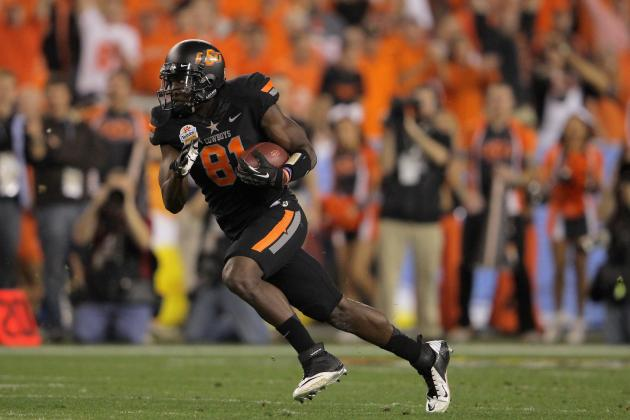 2012 NFL Draft: Will Justin Blackmon Take a Nose Dive on Draft Day?