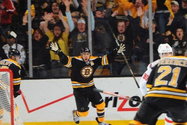 NHL Playoffs 2012:  Boston Bruins Take Game 1