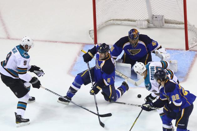 NHL Playoffs 2012: Martin Havlat Is X-Factor in Sharks' Opening Win over Blues