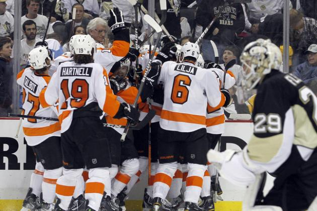 NHL Playoffs 2012: Has Flyers vs. Penguins Turned into David and Goliath?