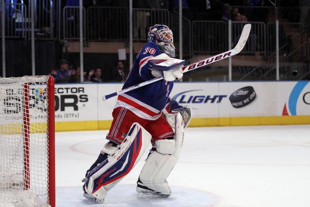 NHL Playoffs 2012: New York Rangers off to a Good Start After Game 1 Win