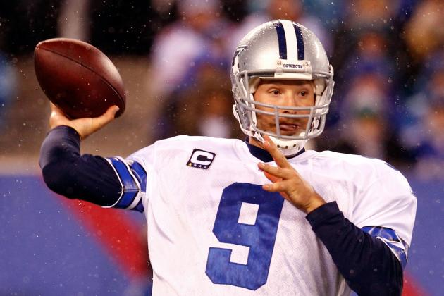 Tony Romo Is Always Taking Steps: A History of His Looking Forward to the Future