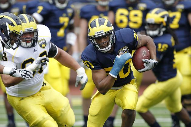 Michigan Football: 2012 Spring Game Position Battles to Watch