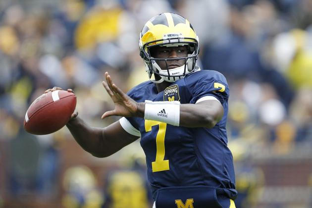 Michigan Spring Game: Wolverines' Offensive Players to Watch for This Saturday
