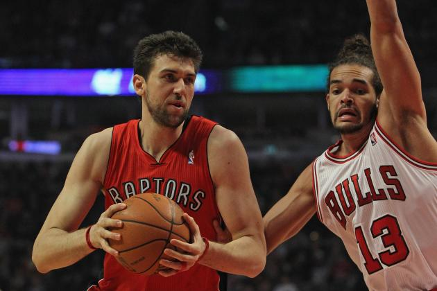 Shutting Down Andrea Bargnani the Right Move for Toronto Raptors