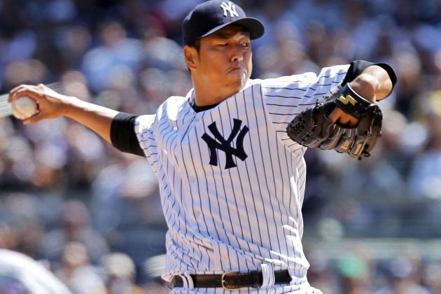 Rodriguez, Kuroda Lead Yankees Past Angels, 5-0, on Opening Day