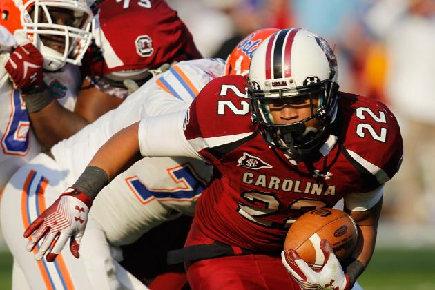 South Carolina Football:  Stout Defense and Power Running Offense Key to 2012