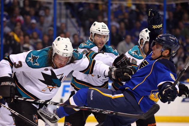 NHL Playoffs 2012: San Jose Sharks Did Not