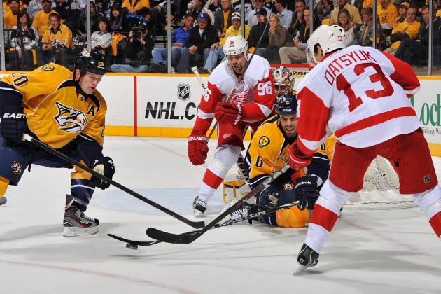 ESPN Gamecast: Red Wings vs. Predators