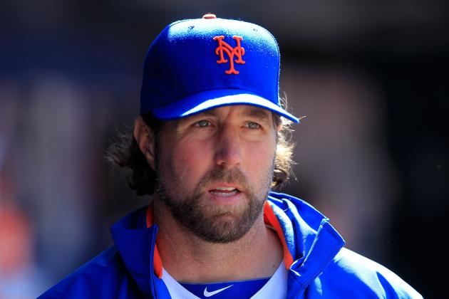 R.A. Dickey Joins Tim Tebow and Jeremy Lin for a New York God Squad of Underdogs