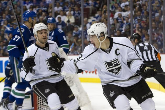 2012 NHL Playoffs: Why the Kings Are Happy They Didn't Trade Dustin Brown