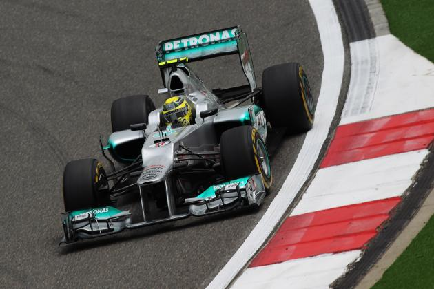 Formula 1 2012 Chinese Grand Prix: Nico Rosberg Claims First Pole Position