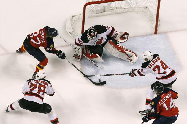 NHL Playoffs 2012: New Jersey Devils Avoid Disaster, Take 1-0 Lead vs. Panthers