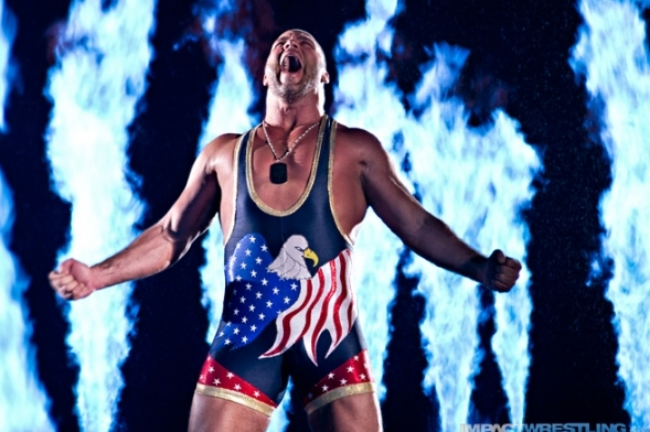 TNA Impact Wrestling: Is Kurt Angle a Wimp?