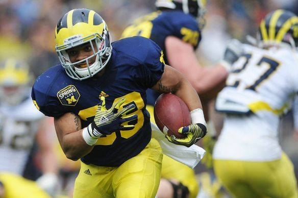 Thomas Rawls Mighty Impressive at Michigan Spring Game 2012