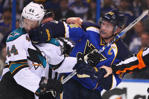San Jose Sharks vs. St. Louis Blues: Sharks Still Have Advantage in 1-1 Series
