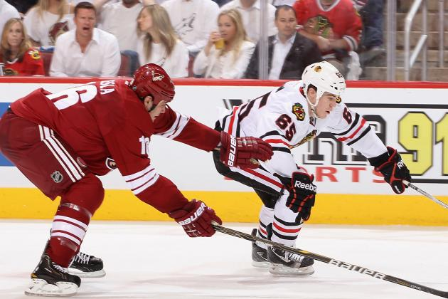 Stanley Cup Playoffs 2012: Why the Call on Chicago's Andrew Shaw Was Wrong