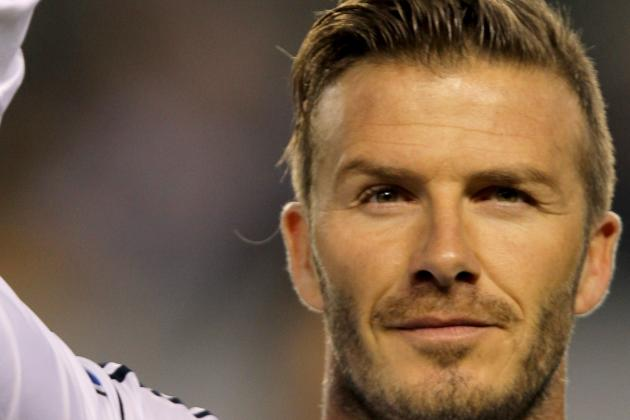 Los Angeles Galaxy vs. Portland Timbers: Rating David Beckham's Performance