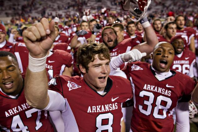 Arkansas Razorbacks Football: Amid the Turmoil, Hogs Display True Leadership