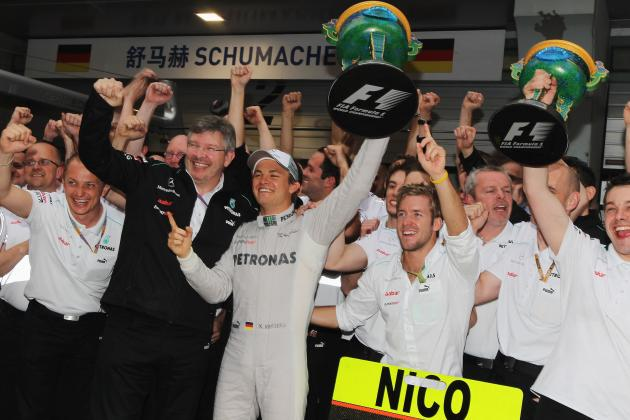Dominant Rosberg wins Chinese GP