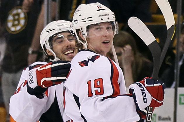 Washington Capitals Knot Up Series with Double OT Goal