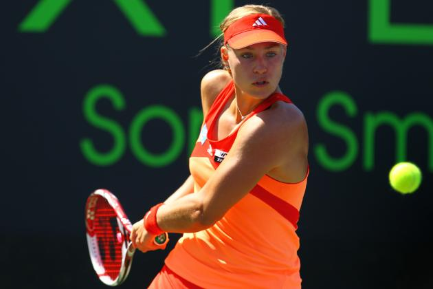 Wozniacki Run over as Kerber Snatches Title