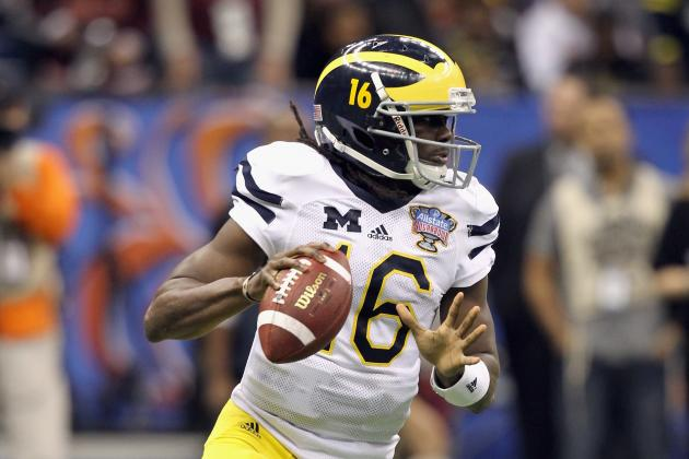Michigan Spring Game 2012: Denard Robinson Set to Make Wolverines a Powerhouse