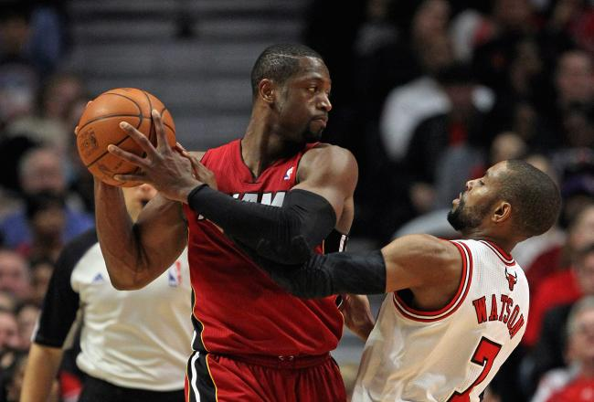 Dwyane Wade gets the start today against the Knicks.