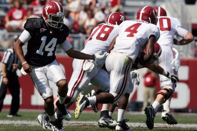 Alabama a-Day Game 2012: T.J. Yeldon Set for Big Freshman Year After Spring Game
