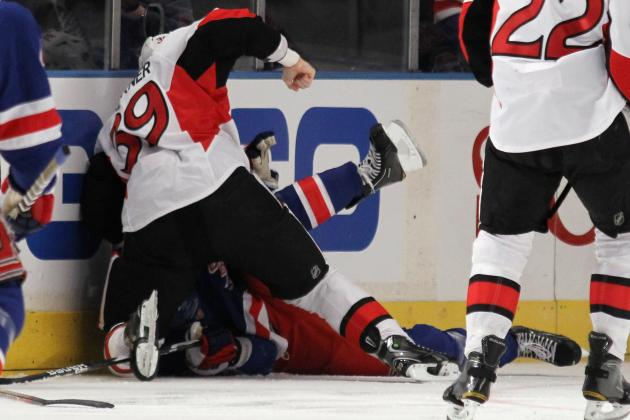 New York Rangers vs. Ottawa Senators Fight Shows Why NHL Needs Rule Change
