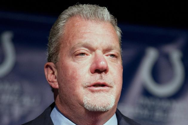 Jim Irsay Giving Away a BMW to Winner of His Twitter NFL Draft Contest