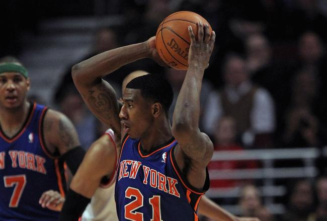 Rookie Iman Shumpert continues to excel on the defensive end of the court.