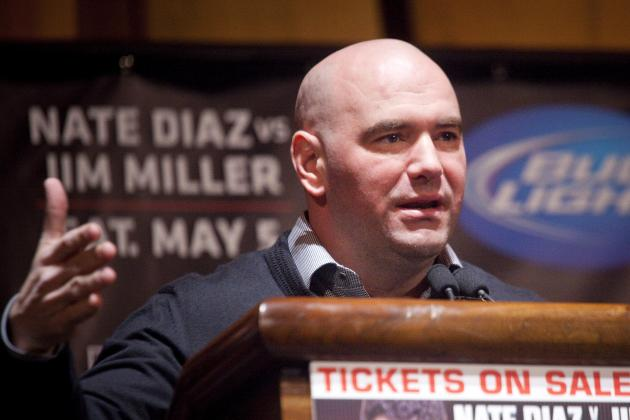 Dana White Calls Public's Request for PED Testing