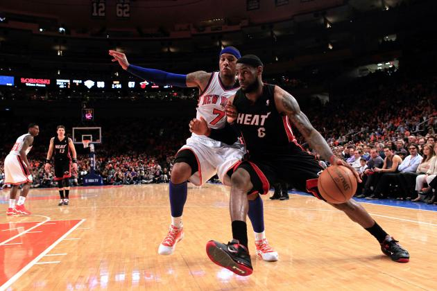 Heat vs. Knicks: Kings of South Beach Snap Knicks' 9-Game Home Winning Streak