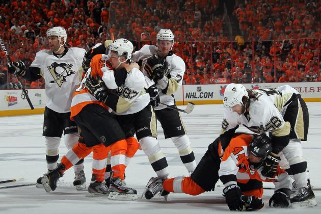 Stanley Cup Playoffs: Penguins vs. Flyers Is a Lesson in Attractive Chaos