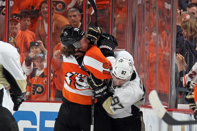 NHL Playoffs 2012: Flyers Fans Let Penguins Know