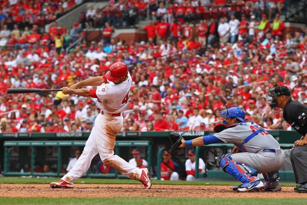 Maholm Gets Pounded as the Chicago Cubs Fall to the St. Louis Cardinals 10-3