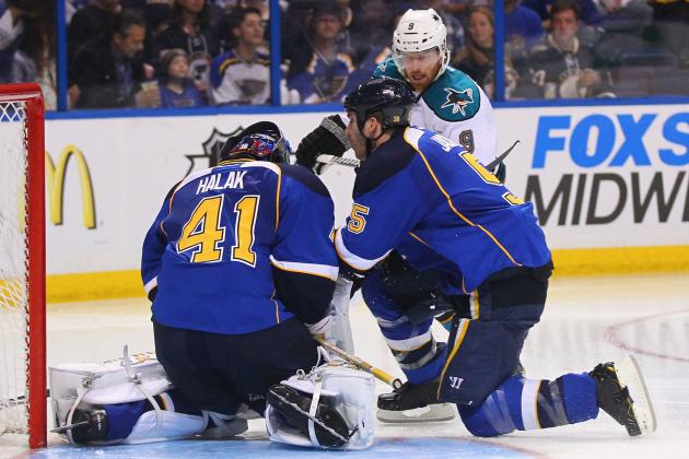 San Jose Sharks Look to Build on Split Earned in St. Louis