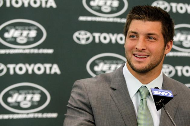 Tim Tebow Booed at Yankee Stadium Could Be Sign of Things to Come for Jets QB