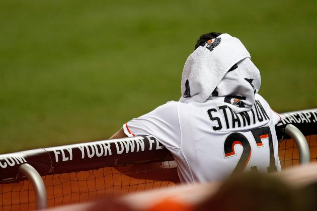 Miami Marlins: Will Giancarlo Stanton Be Injured All Season Long?