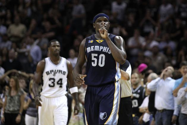 Zach Randolph: Will Memphis Grizzlies Big Man Start in the Playoffs?