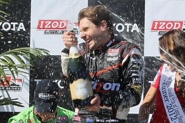 IndyCar: Will Power Takes Long Beach and Chevy Is Undefeated in 2012
