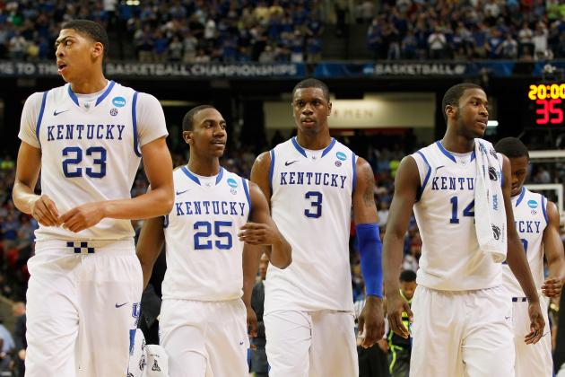 NBA Draft 2012: Anthony Davis Leads Kentucky Stars Taking Talents to NBA