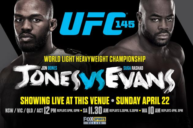 UFC 145: Fight Card, PPV Info, Predictions and More for Jones vs. Evans