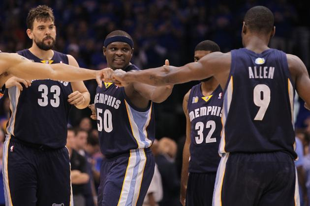 NBA Playoffs 2012: Grizzlies Head into Playoffs as the League's Biggest Sleeper