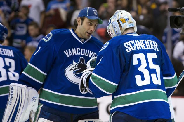 NHL Playoffs 2012: Vancouver Canucks Need to Start Roberto Luongo in Game 4